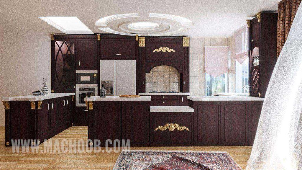 پروژه کابینت آشپزخانه ممبران ماچوب (آقای عابد)