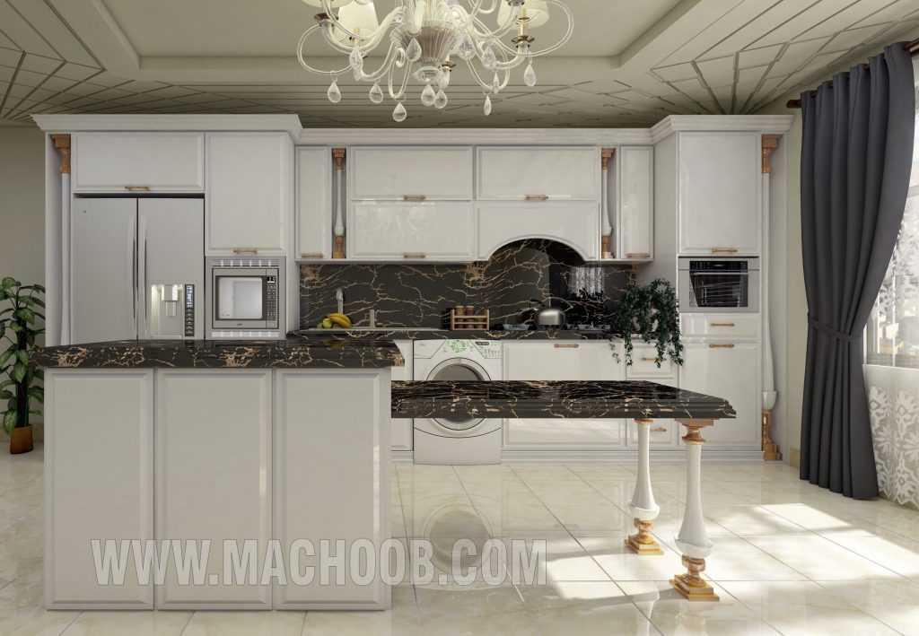 پروژه کابینت آشپزخانه انزو ماچوب (آقای افخمی)