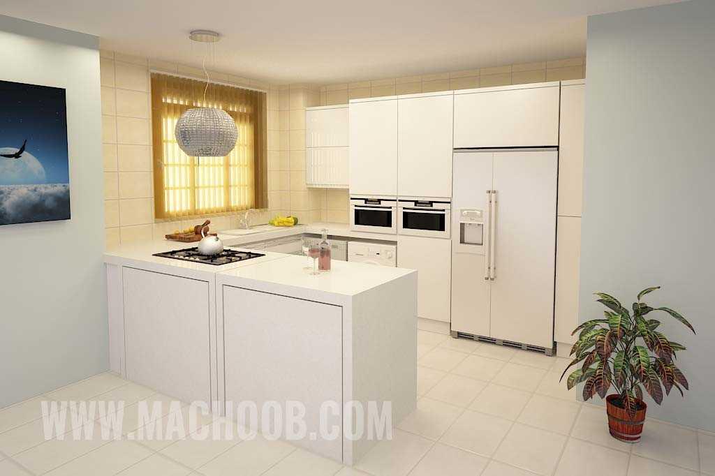 پروژه کابینت آشپزخانه مدرن ماچوب (آقای احمدزاده)