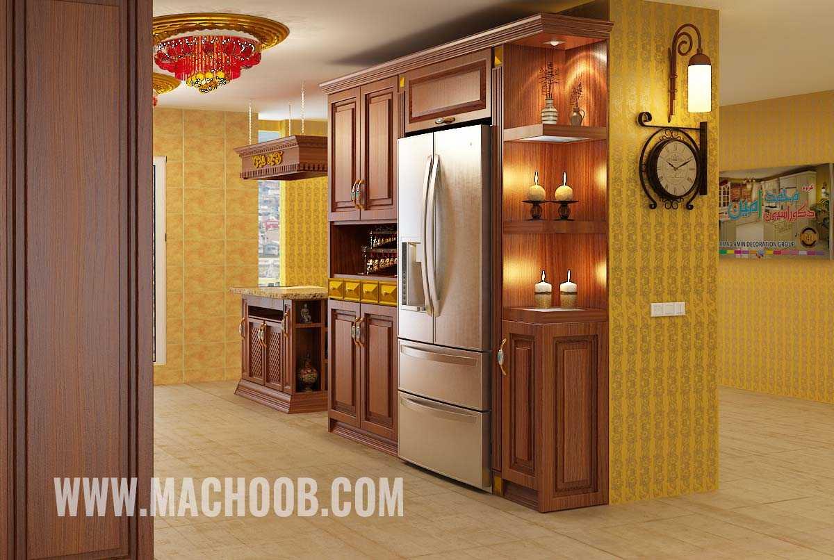 پروژه کابینت آشپزخانه ممبران ماچوب (آقای احسنی)