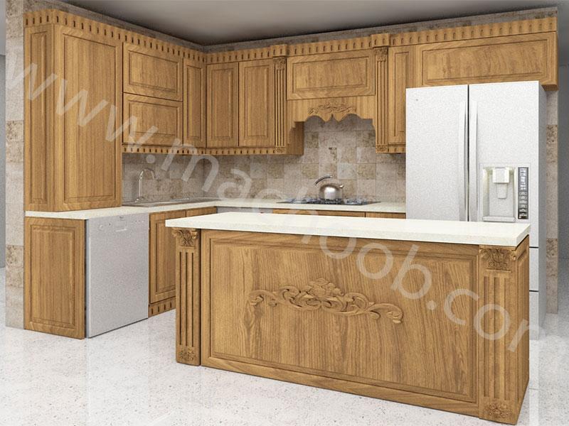 پروژه کابینت آشپزخانه ممبران ماچوب (آقای عمویی)