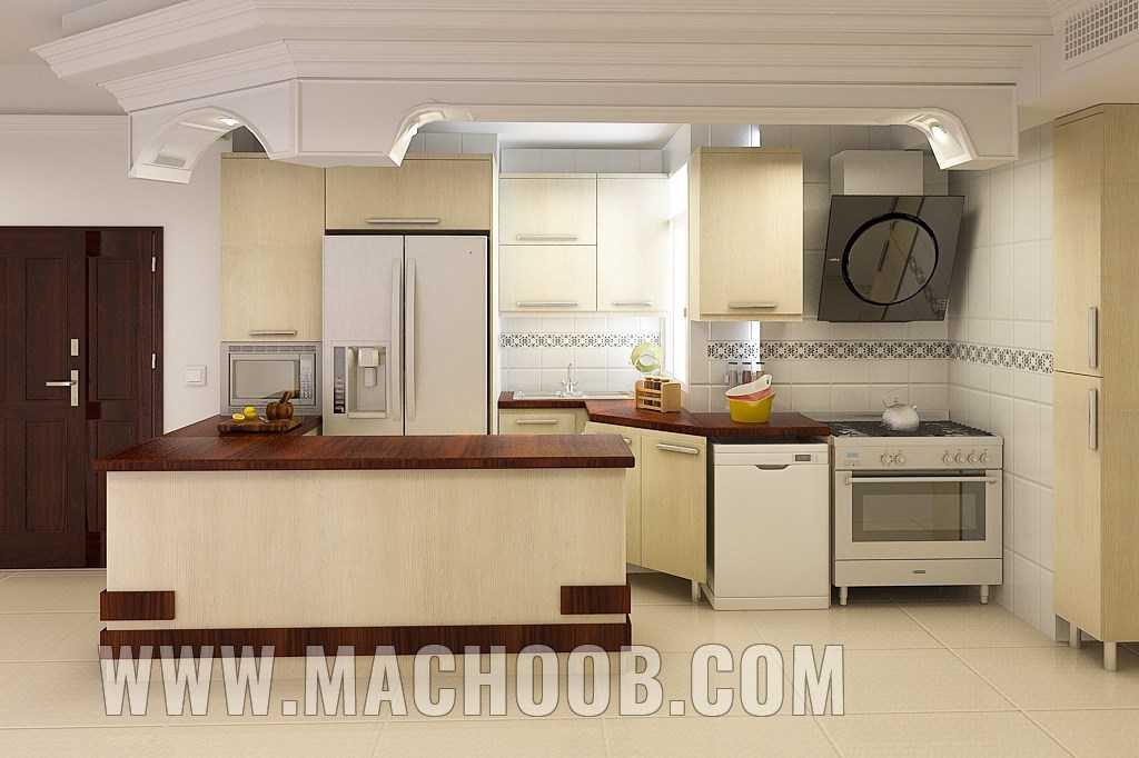 پروژه کابینت آشپزخانه ماچوب (آقای آزادی)