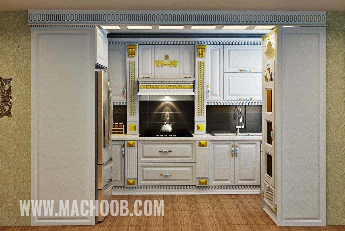 پروژه کابینت آشپزخانه ماچوب (آقای بهرامی)