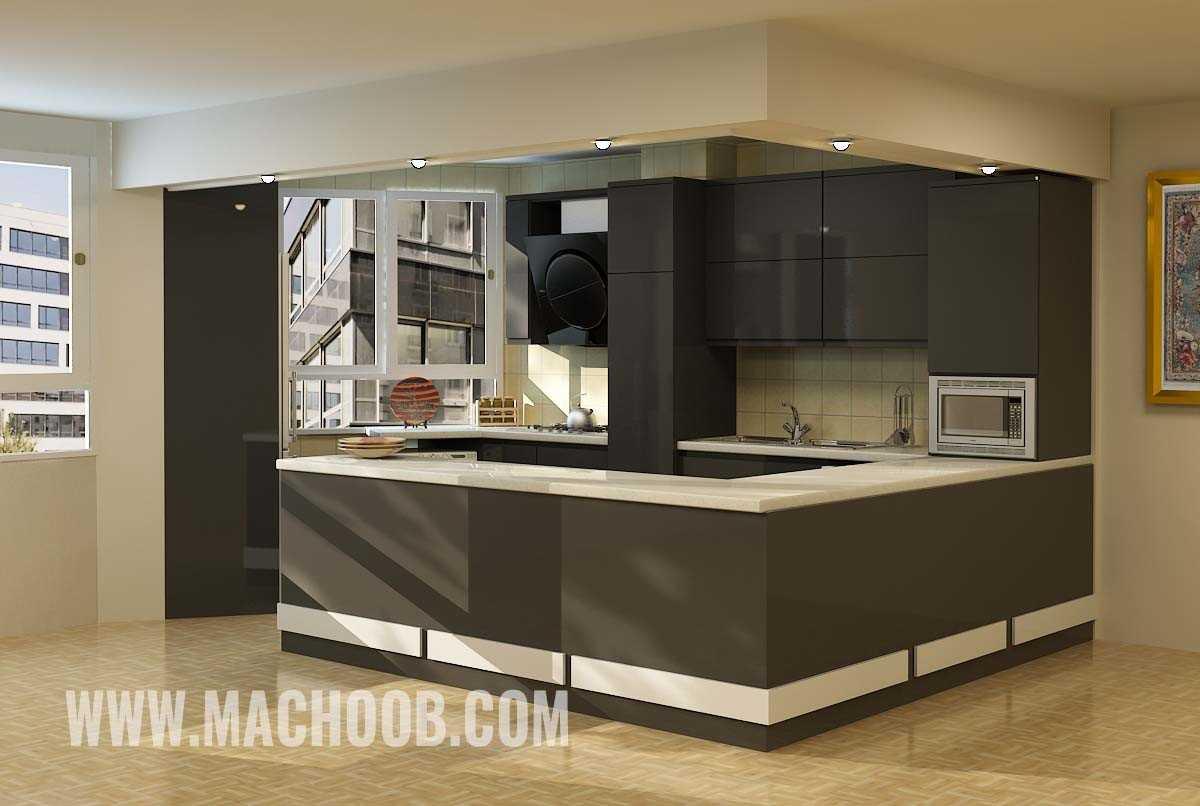 پروژه کابینت آشپزخانه ماچوب (آقای دینی)