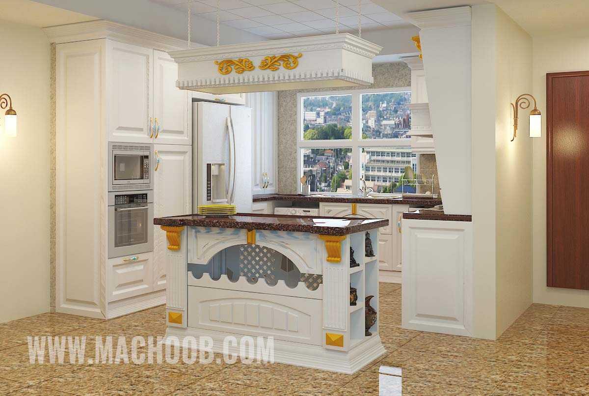 پروژه کابینت آشپزخانه ممبران ماچوب (آقای اسماعیلی)