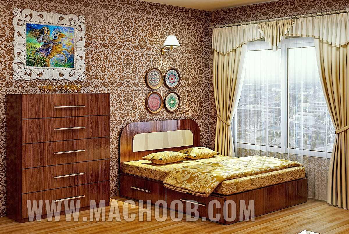 پروژه بازسازی اتاق خواب ماچوب (آقای فرزاد فر)