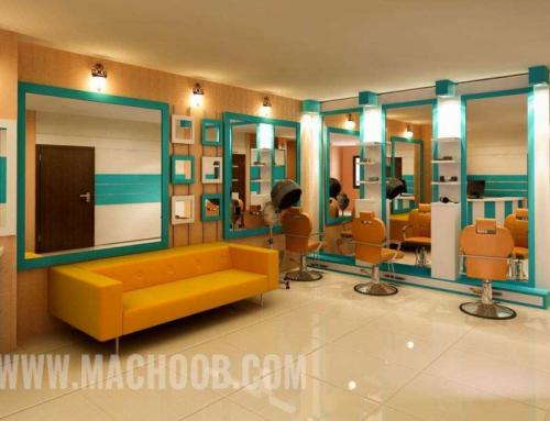 دکوراسیون آرایشگاه خانم فتحی