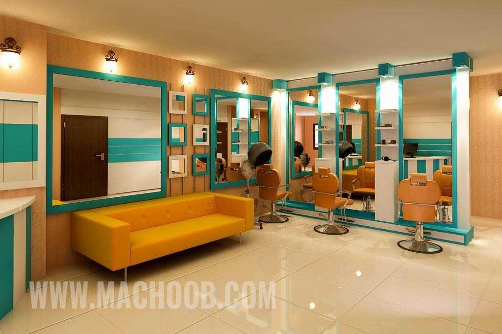 پروژه دکوراسیون مغازه (آرایشگاه زنانه)