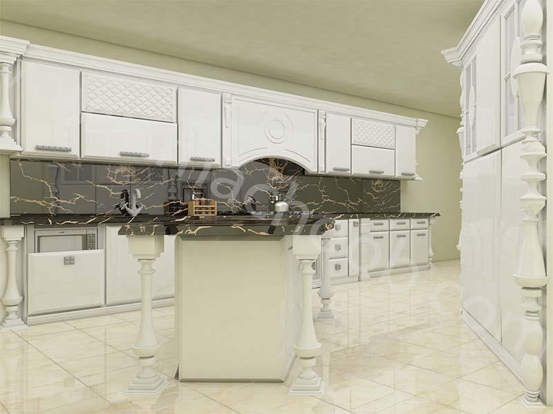 پروژه کابینت آشپزخانه انزو ماچوب (آقای محمد نژاد)