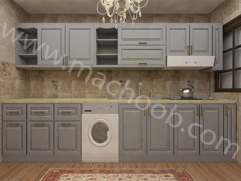 پروژه کابینت آشپزخانه ممبران ماچوب (آقای دکتر حیدری)