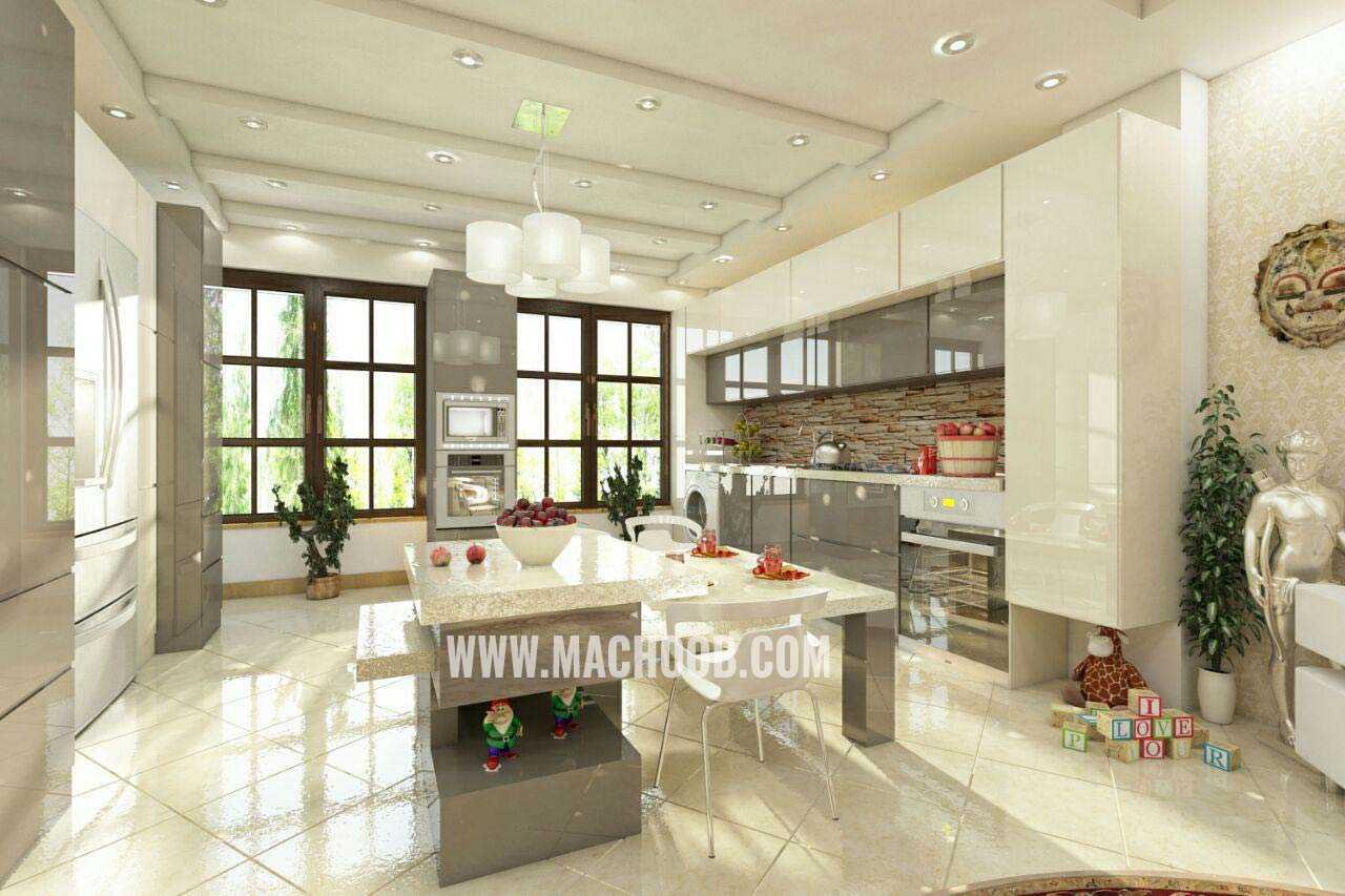 پروژه کابینت آشپزخانه مدرن ماچوب (آقای ایمانی فرد)