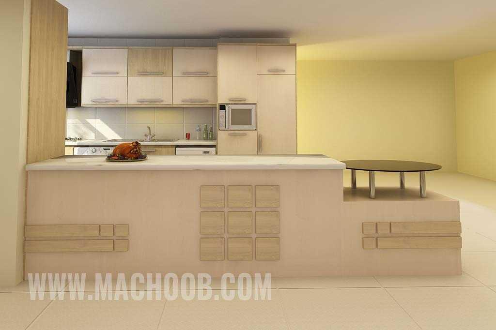 پروژه کابینت آشپزخانه مدرن ماچوب (آقای جعفر نژاد)