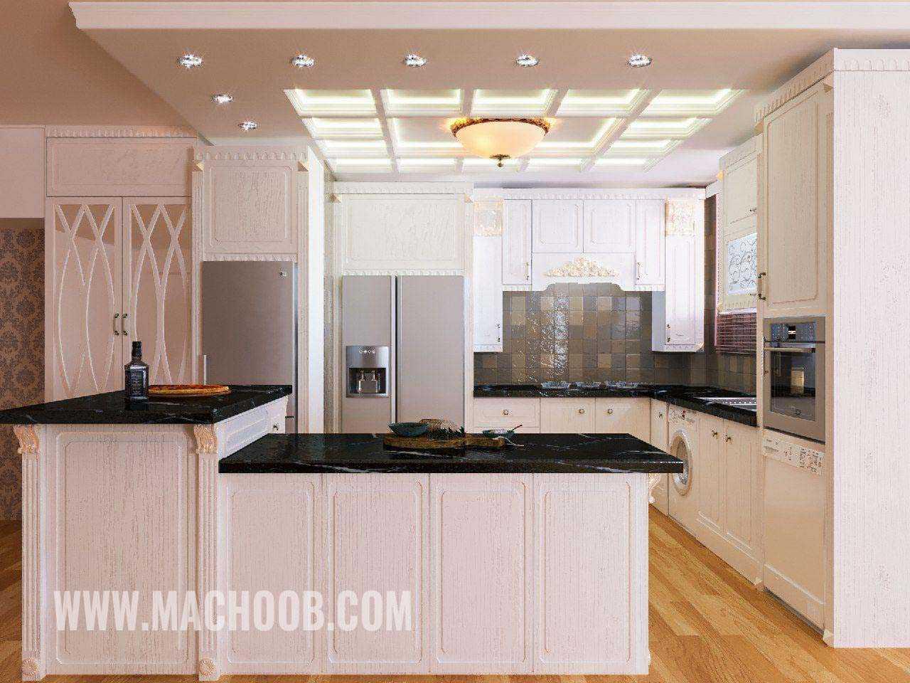 پروژه کابینت آشپزخانه انزو ماچوب (آقای جاودان)