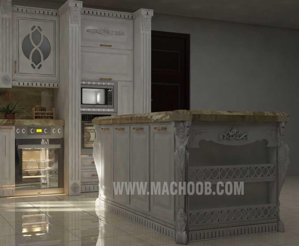 پروژه کابینت آشپزخانه ممبران ماچوب (خانم مقصودی)