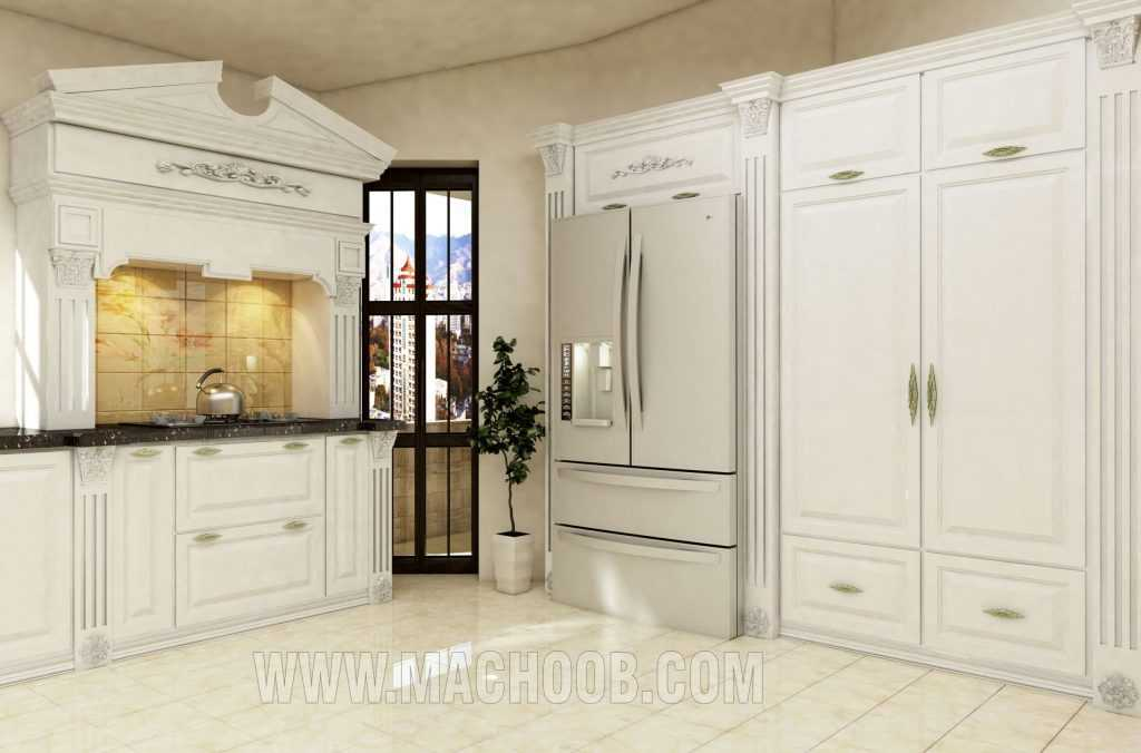 پروژه کابینت آشپزخانه ممبران ماچوب (آقای مهدوی)