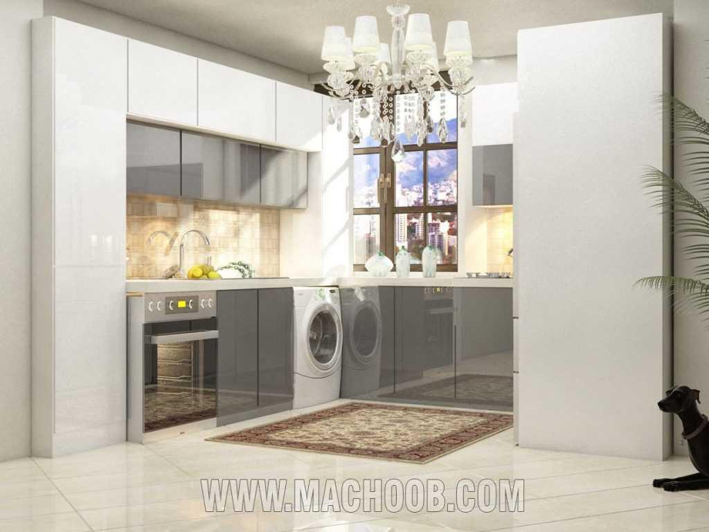 پروژه کابینت آشپزخانه ام دی اف مات ماچوب (آقای ملکیان)