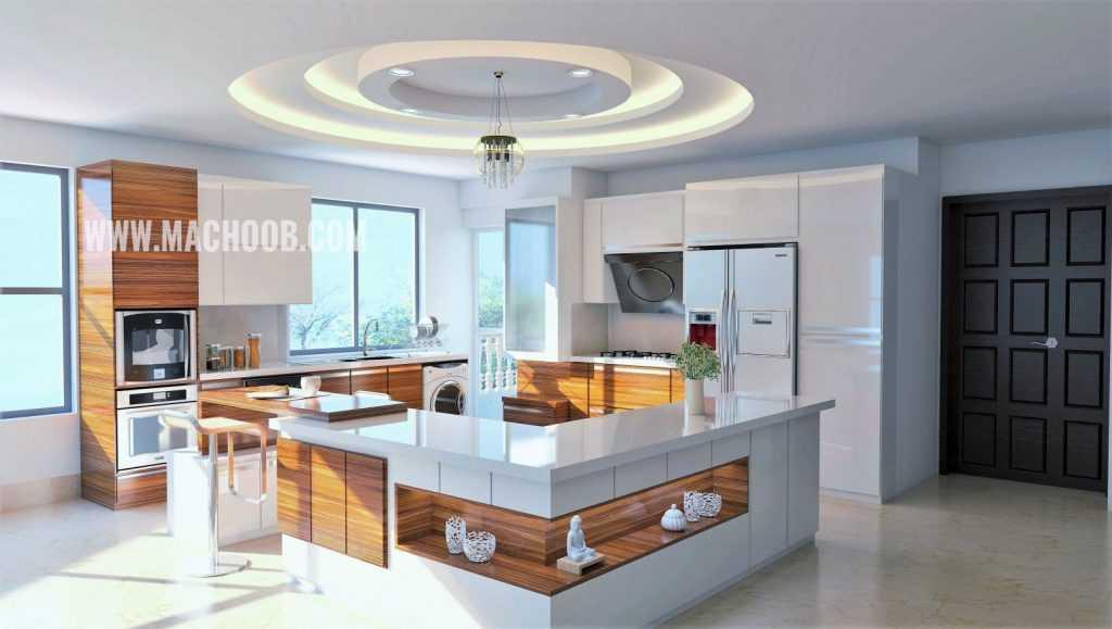 پروژه کابینت آشپزخانه های گلاس ماچوب (آقای مشایخی)