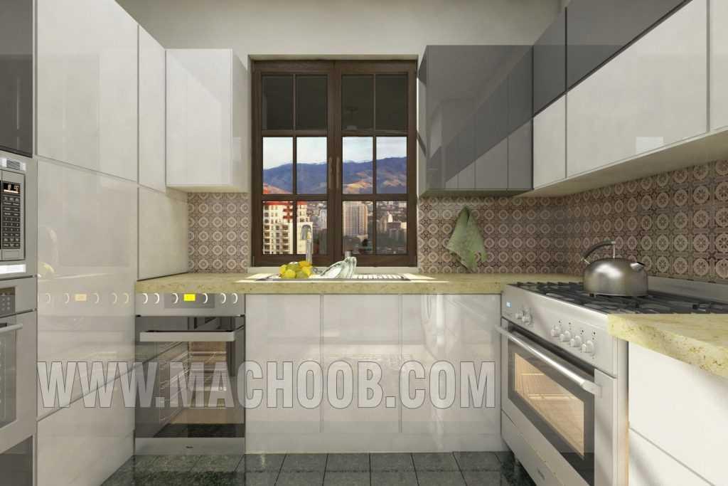 پروژه کابینت آشپزخانه ماچوب (آقای مهران فرد)