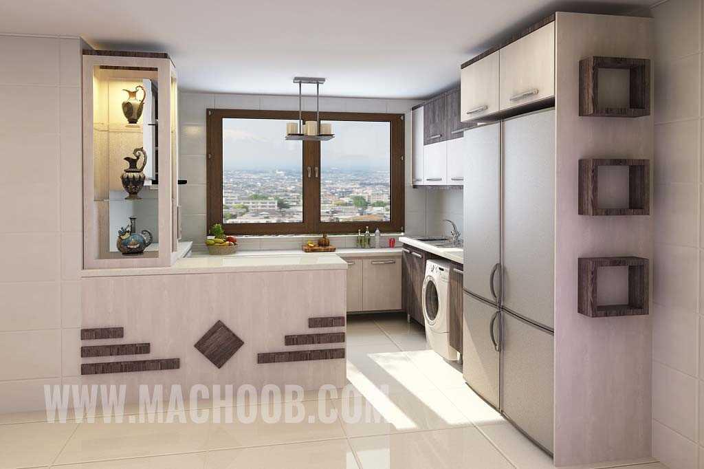 پروژه کابینت آشپزخانه ماچوب (آقای میرزایی)