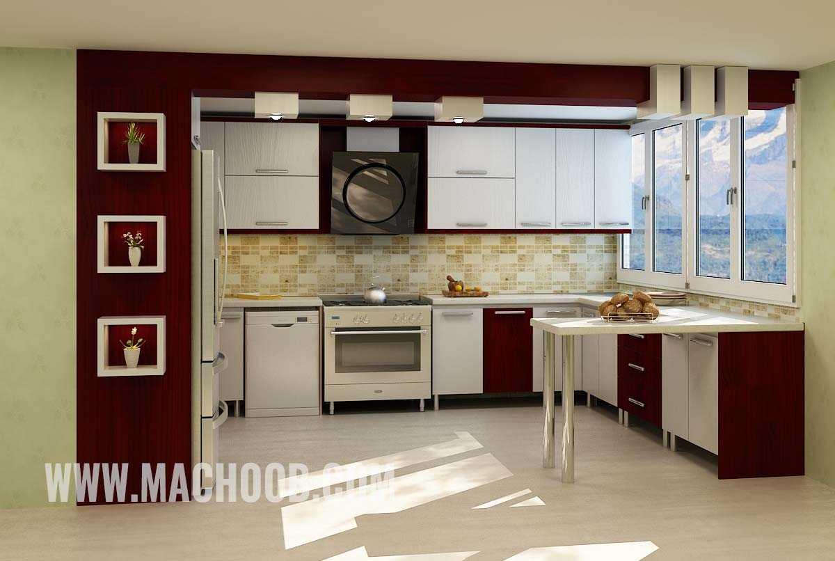 پروژه کابینت آشپزخانه هایگلس ماچوب (آقای مقیسه)
