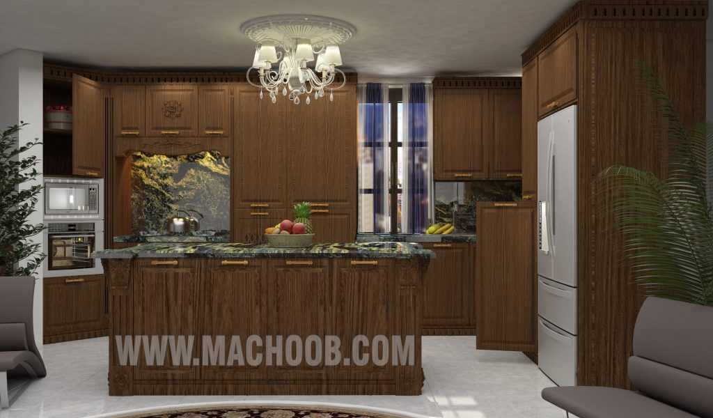 پروژه کابینت آشپزخانه ممبران ماچوب (آقای محمدزاده)