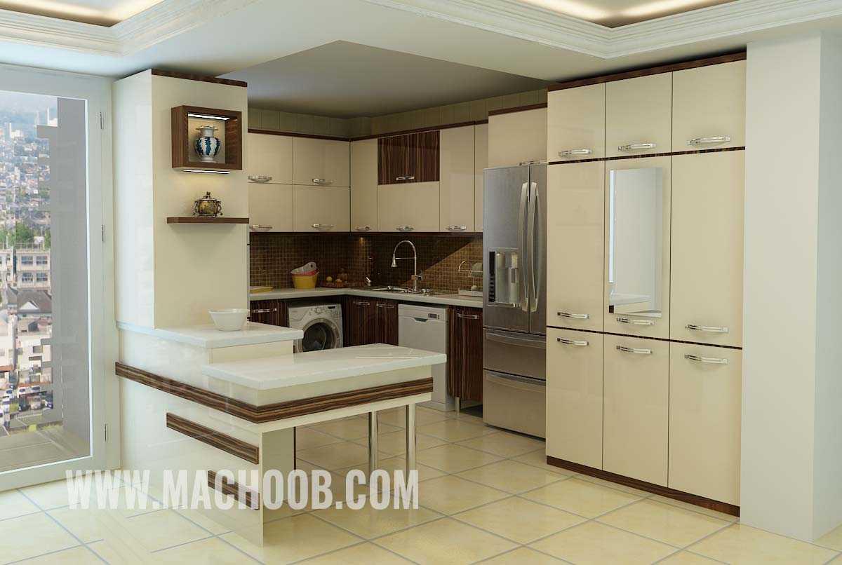 پروژه کابینت آشپزخانه ماچوب (آقای موسوی)