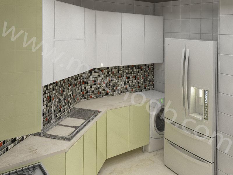پروژه کابینت آشپزخانه های گلس ماچوب (آقای نوری)