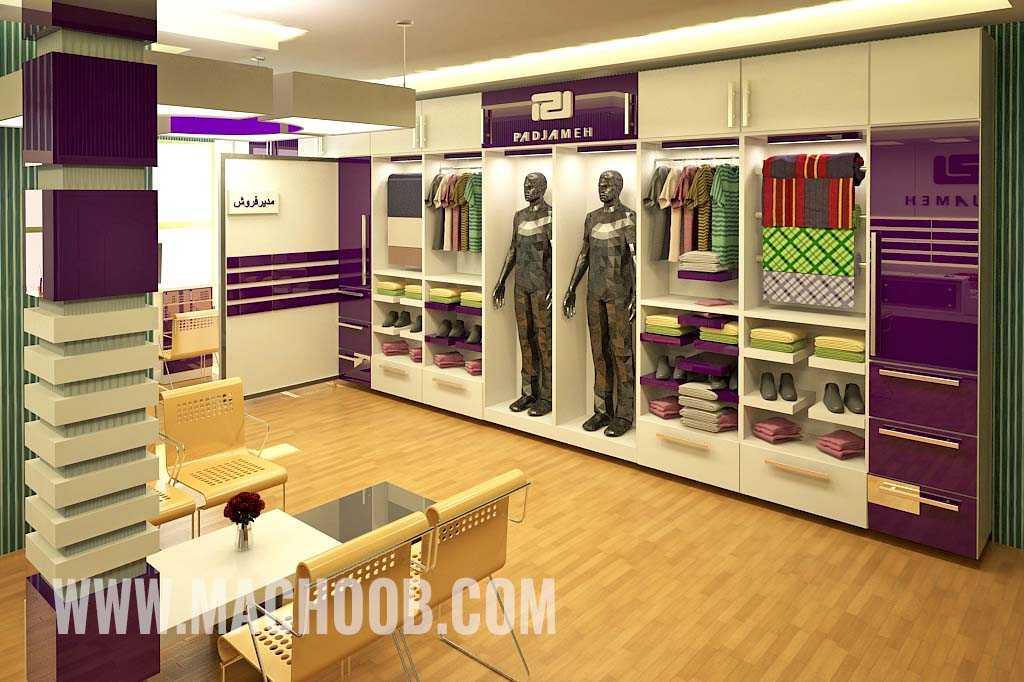 پروژه دکوراسیون مغازه (فروشگاه پاد جامه)