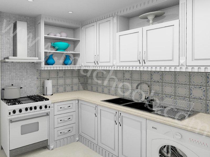 پروژه کابینت آشپزخانه ماچوب (آقای پورترکی)