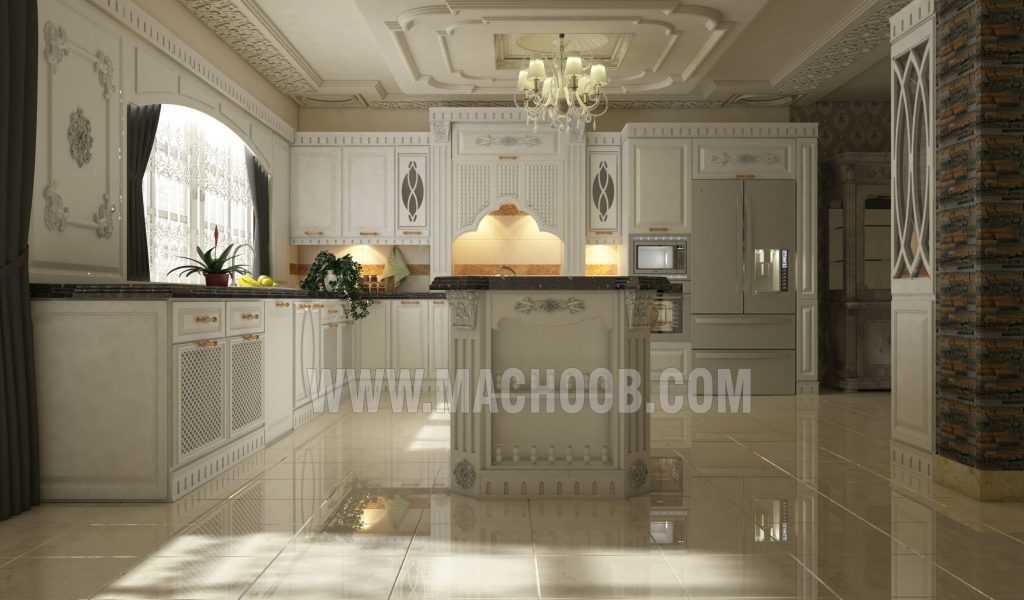 پروژه کابینت آشپزخانه ممبران ماچوب (خانم رضا بیک)