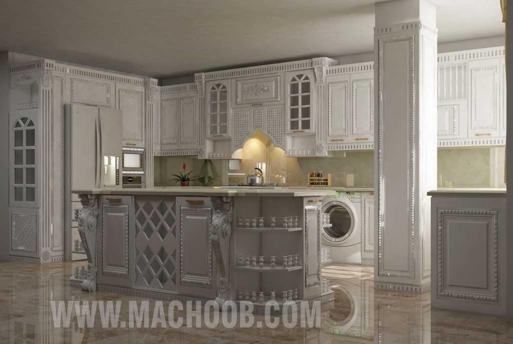 پروژه کابینت آشپزخانه ماچوب (آقای روح بخش)