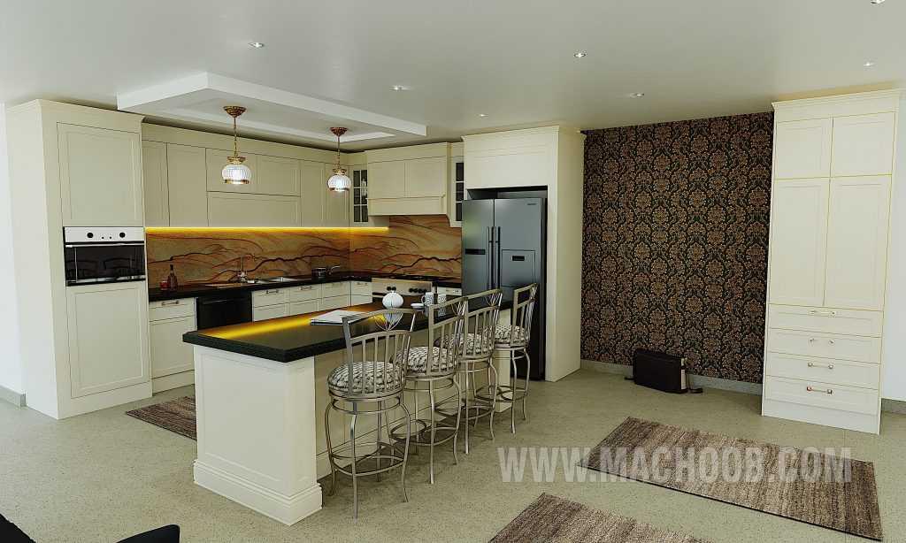 پروژه کابینت آشپزخانه ماچوب (آقای صفریان)
