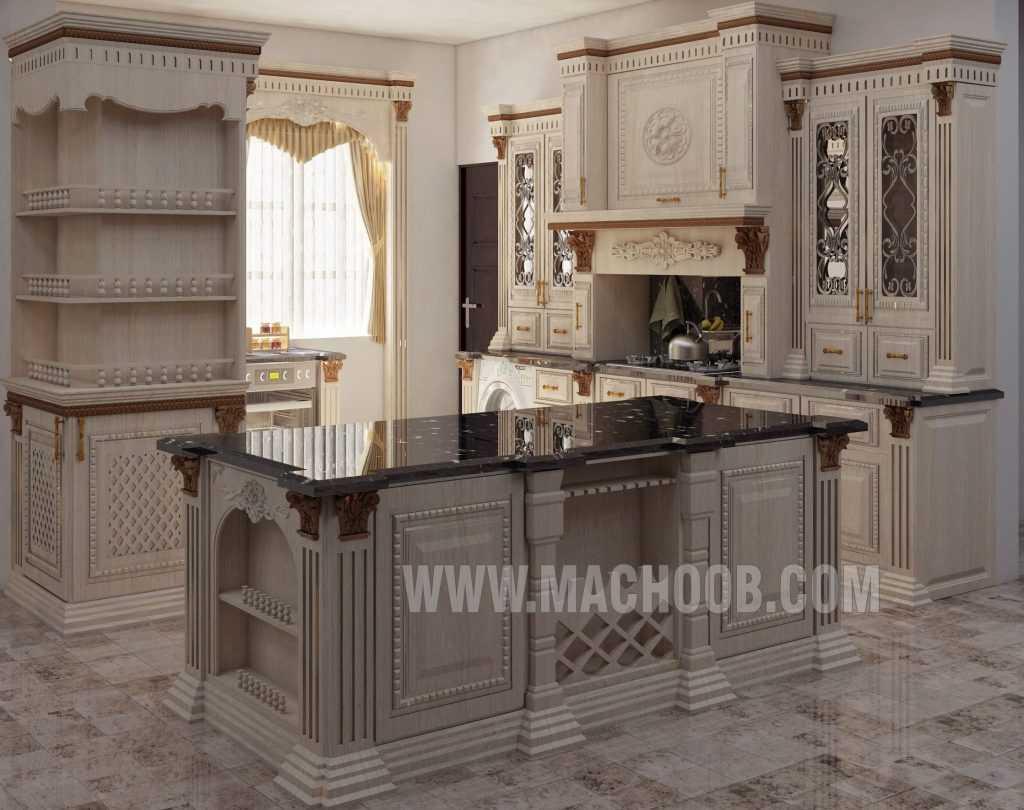پروژه کابینت آشپزخانه ماچوب (آقای ثقفی)