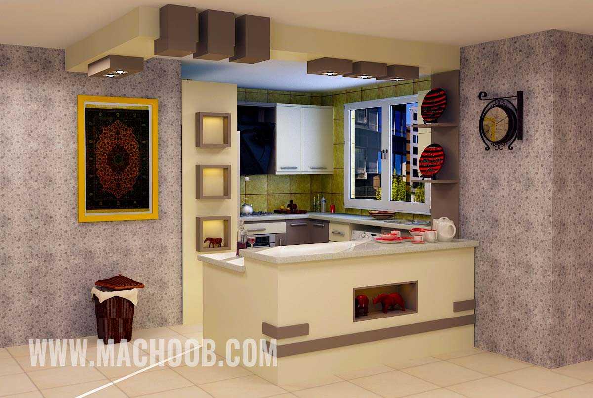 پروژه کابینت آشپزخانه مدرن ماچوب (آقای صالح)