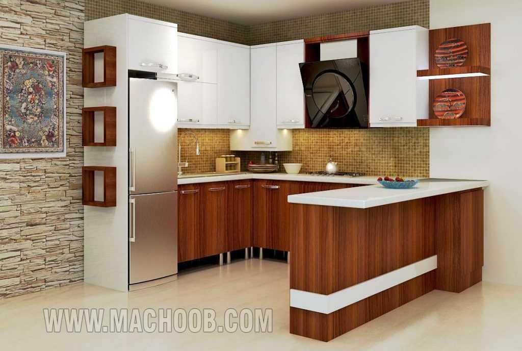 پروژه کابینت آشپزخانه ام دی اف ماچوب (آقای صدیقی)