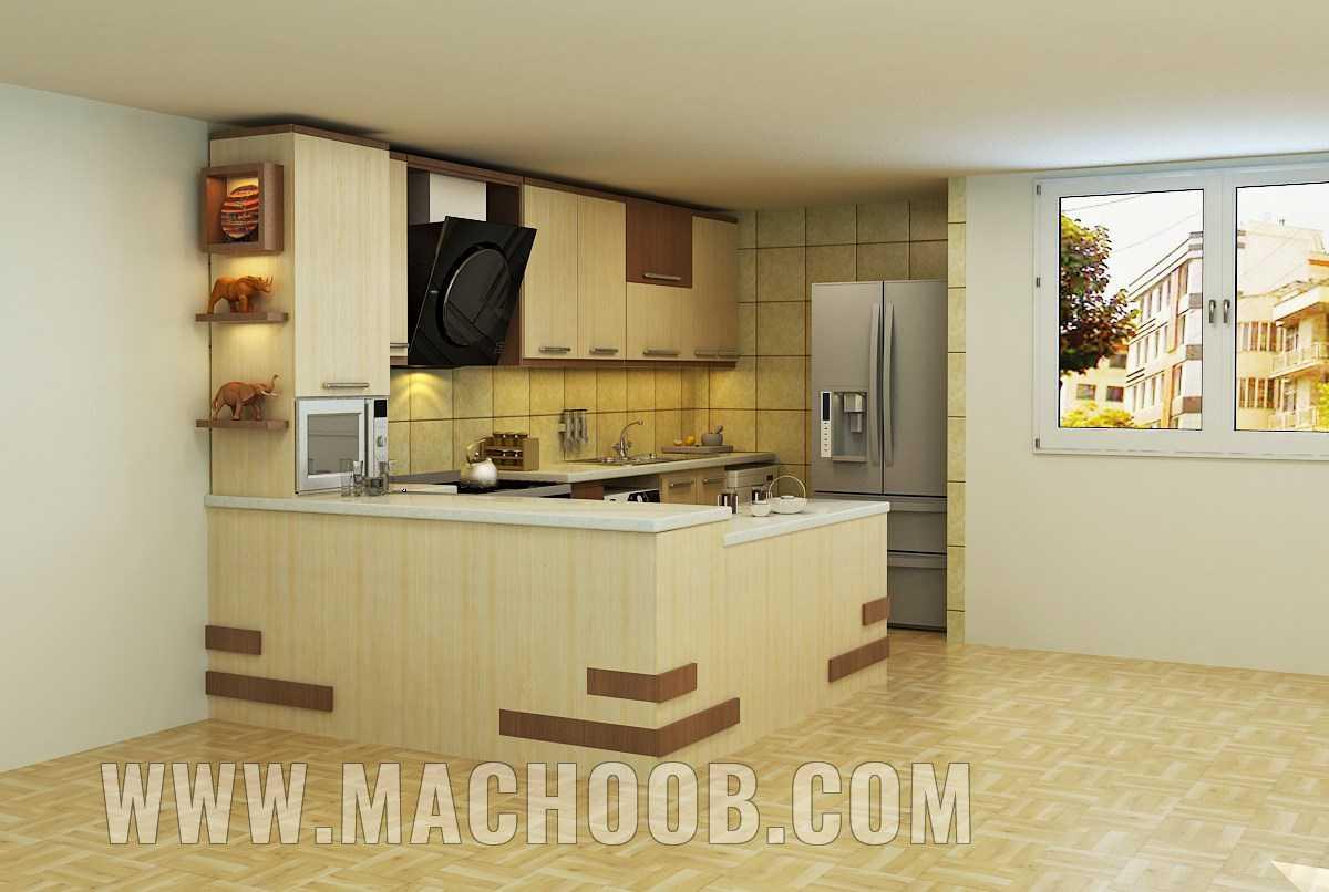 پروژه کابینت آشپزخانه ماچوب (خانم شاکری)
