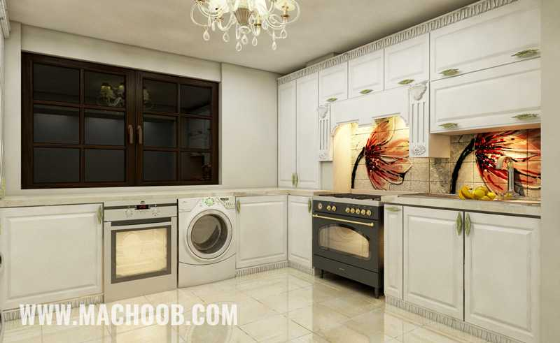 پروژه کابینت آشپزخانه ممبران ماچوب (آقای شریفیان)