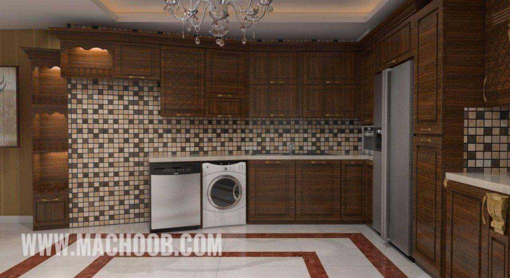پروژه کابینت آشپزخانه ممبران ماچوب (آقای شریف مرادی)