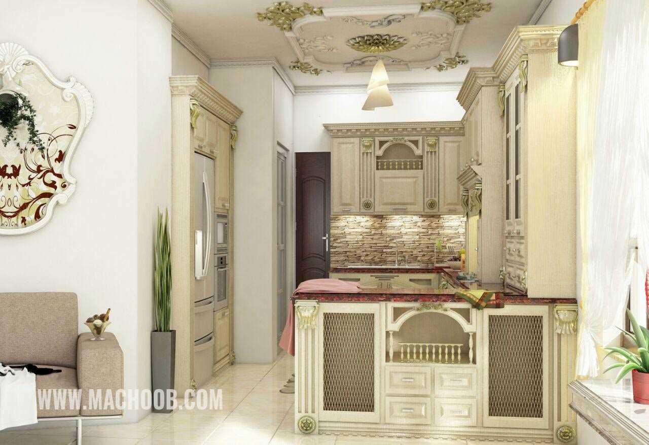 پروژه کابینت آشپزخانه ممبران ماچوب (آقای مهندس شریف زاده)