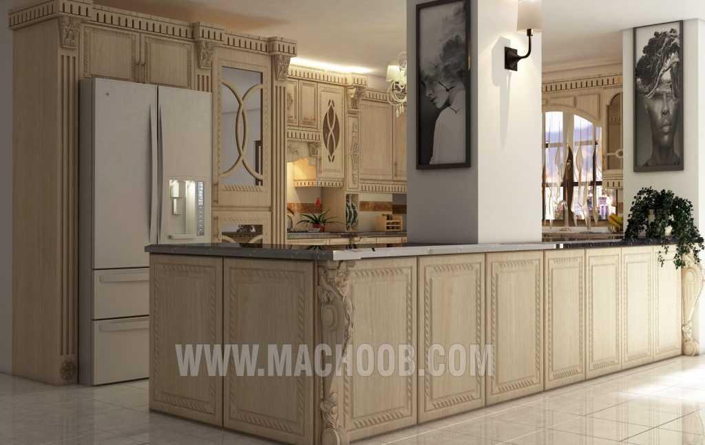 پروژه کابینت آشپزخانه ممبران ماچوب (آقای توکلی)