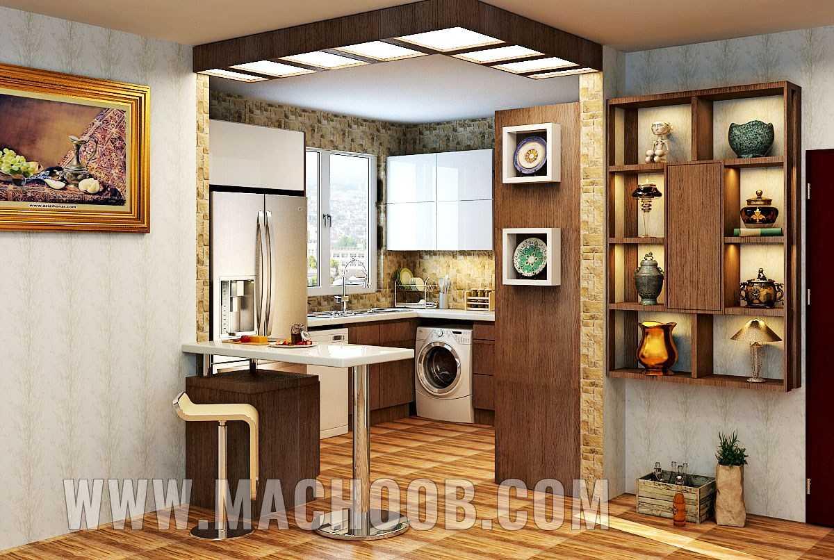 پروژه کابینت آشپزخانه های گلس ماچوب (آقای توتونچی)