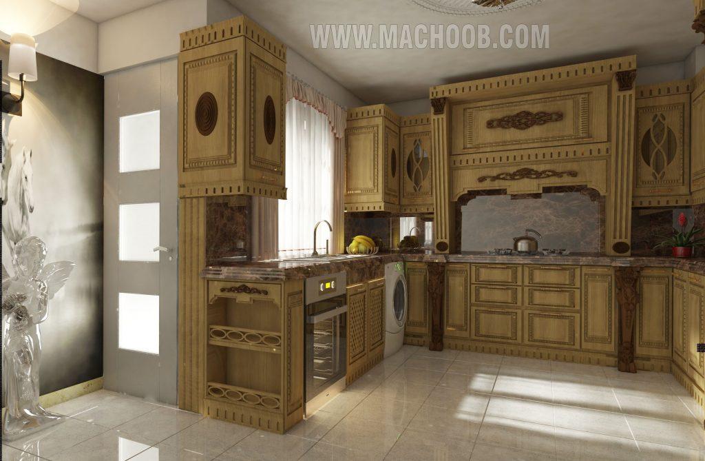 پروژه کابینت آشپزخانه ماچوب (آقای دکتر وفایی)