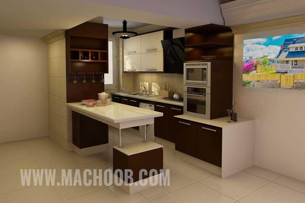 پروژه کابینت آشپزخانه های گلس ماچوب (خانم ولی)