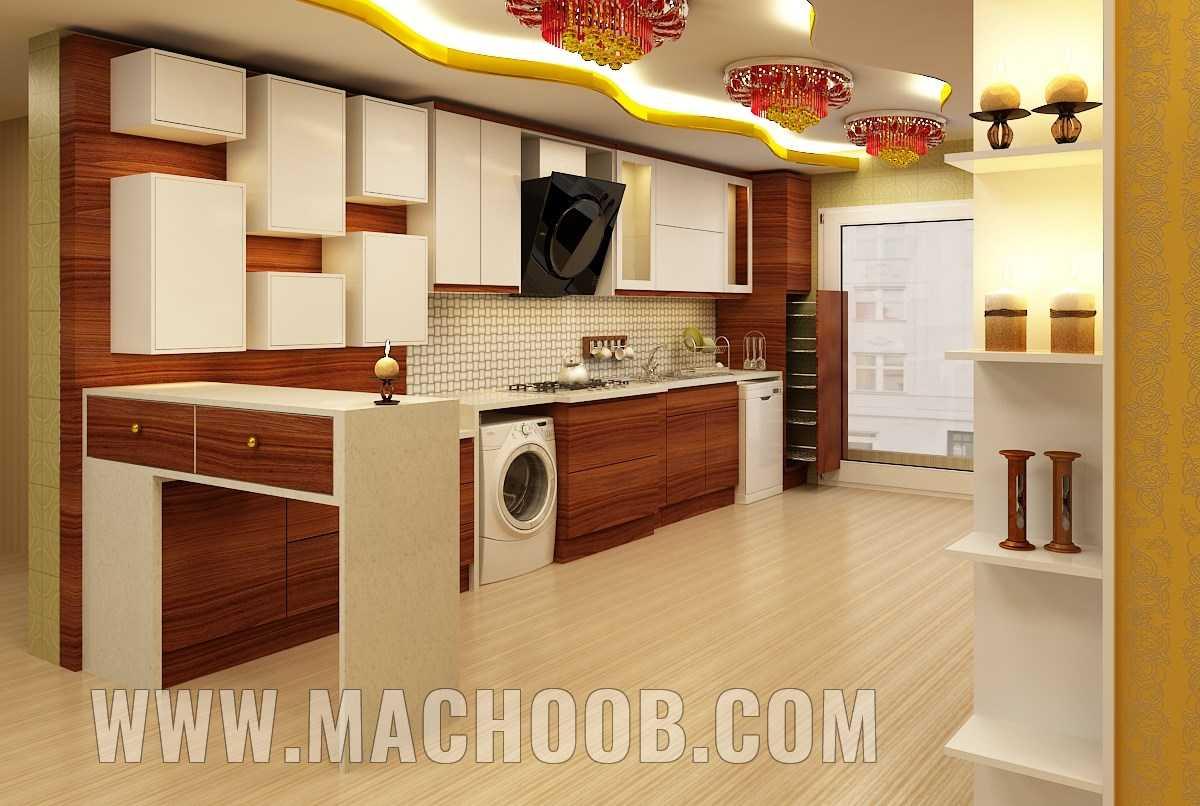 پروژه کابینت آشپزخانه ماچوب (آقای وثوق)
