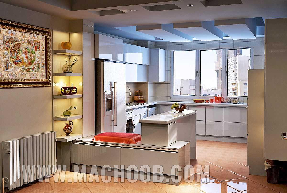 پروژه کابینت آشپزخانه هایگلس ماچوب (آقای زمانی)