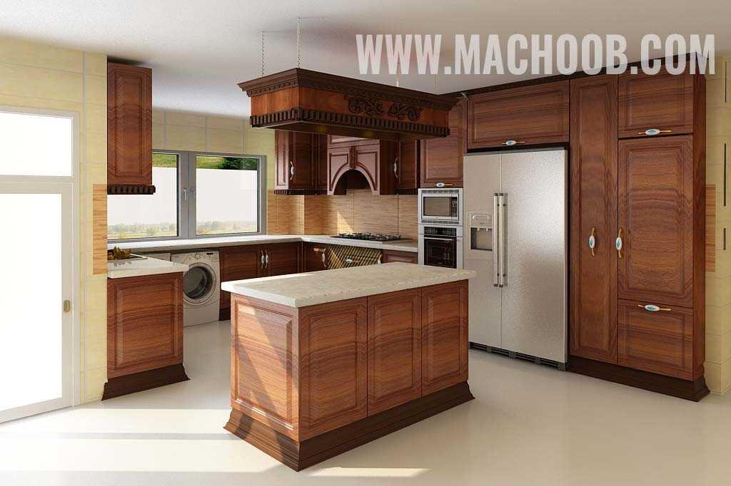 پروژه کابینت آشپزخانه ماچوب (آقای زندی)