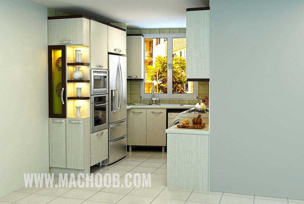 پروژه کابینت آشپزخانه مدرن ماچوب (آقای مرتضی زندی)