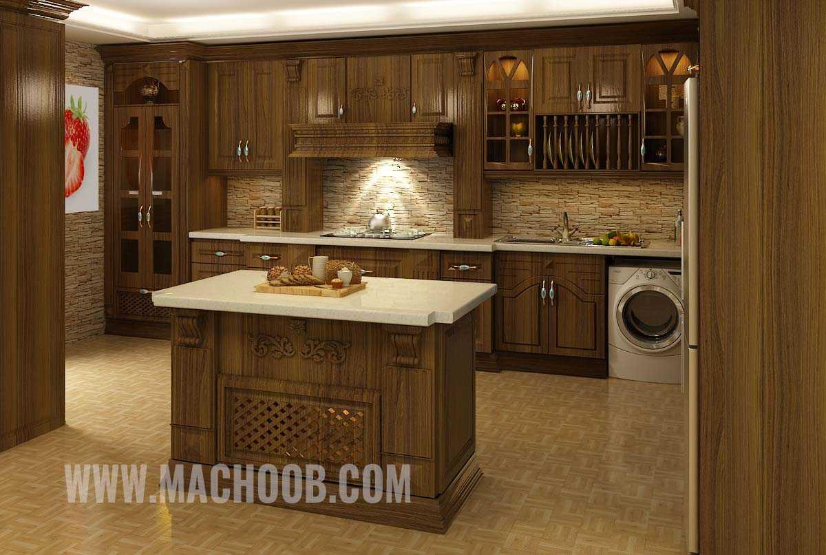 پروژه کابینت آشپزخانه ممبران ماچوب (آقای زارعی)